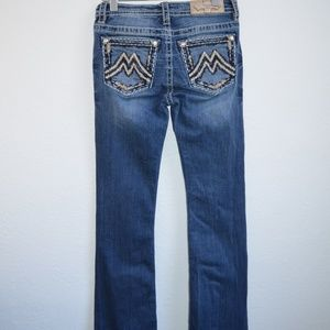 Miss Me Bootcut Jeans Womens Blue M3112B W25xL33